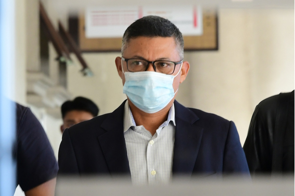 Hazem (pic) said he was not fully aware of Jho Low instructing the account be opened at the now-defunct Falcon Bank, although he said he would not be surprised if Low did. (Photo by Patrick Goh/The Edge)