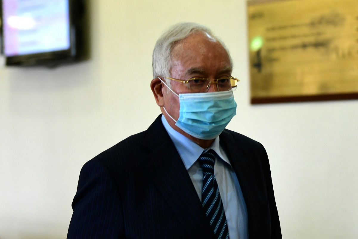 Former prime minister Datuk Seri Najib Abdul Razak (File photo by Patrick Goh/The Edge)