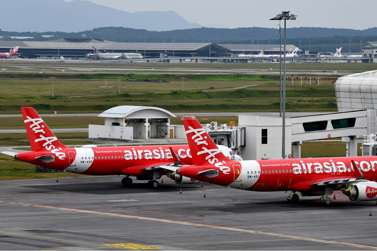 AirAsia operating at 19% of pre-pandemic capacity; Malaysia unit at only 8% — report