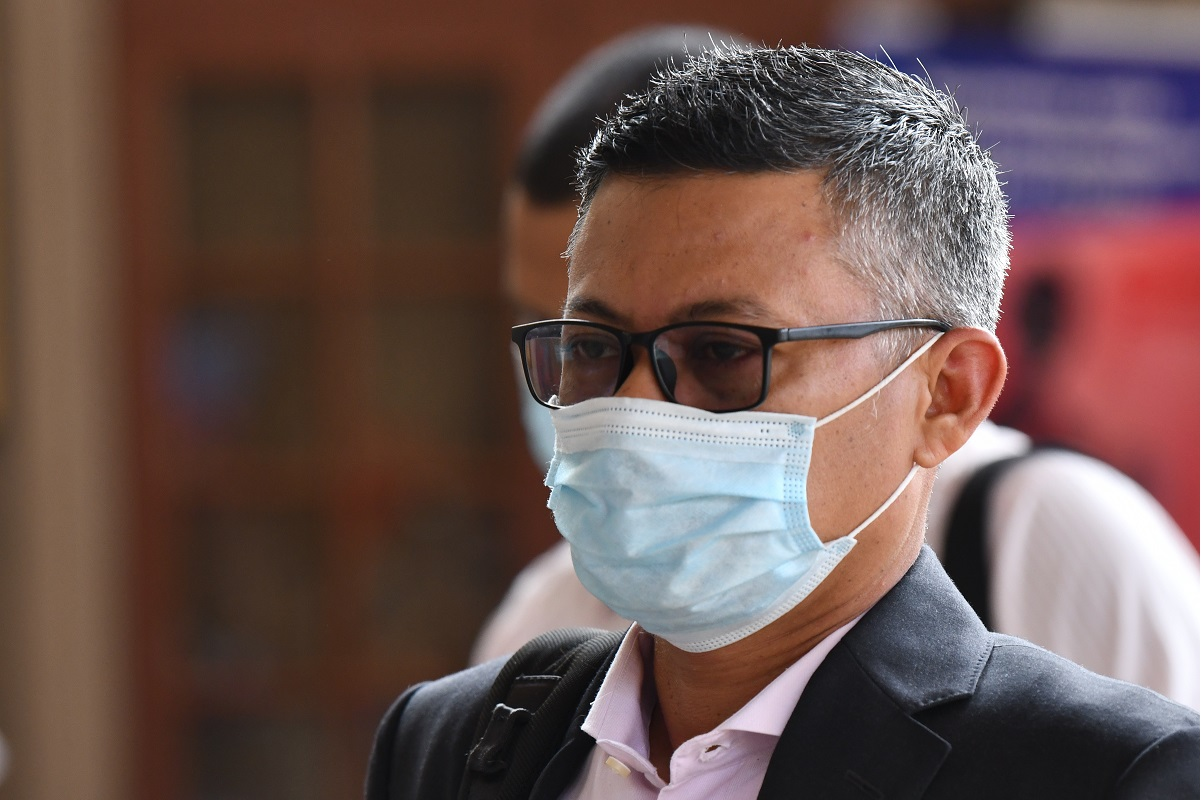 Former 1MDB CEO Mohd Hazem Abdul Rahman (Photo by Mohd Suhaimi Mohamed Yusuf/The Edge)