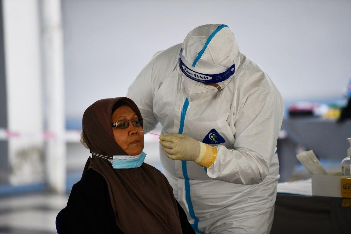 新冠肺炎:新增确诊升至2551例 砂州960例居首