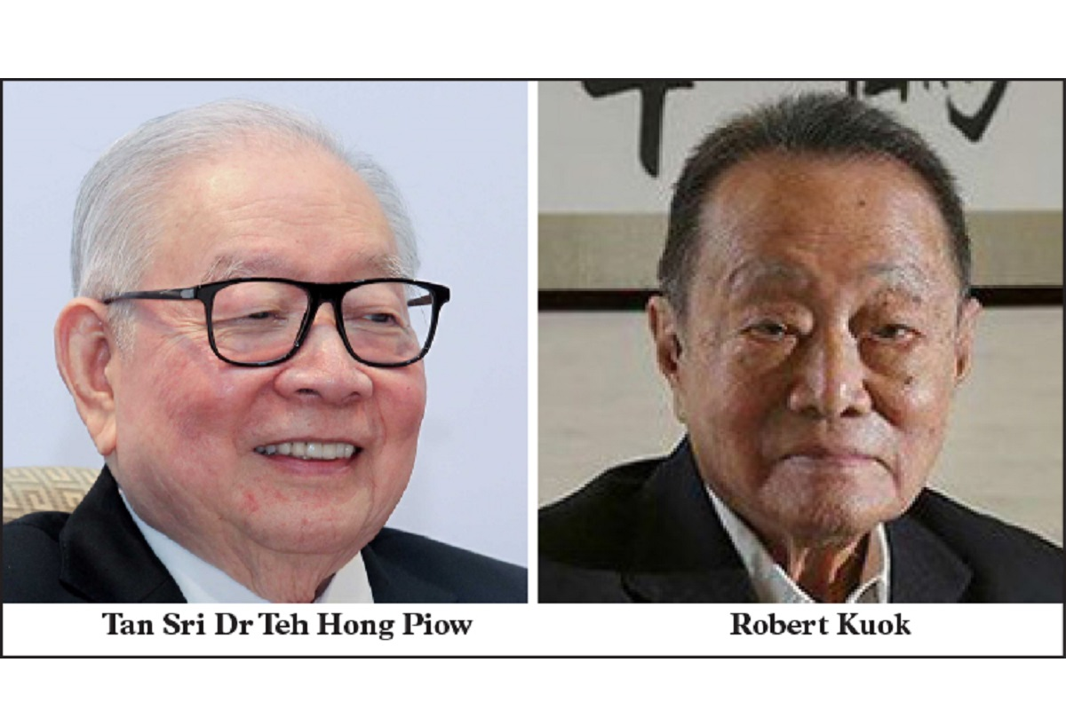 Teh Hong Piow and Robert Kuok slip on billionaire index after trimming wealth