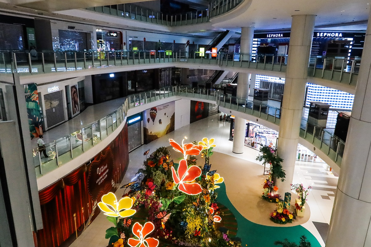 The retailer groups also asked for shopping malls in Selangor to be reopened as data from the Ministry of Health from April and May show that merely 0.8% of Covid-19 cases are attributed to shopping malls. (Photo by Zahid Izzani Mohd Said/The Edge)