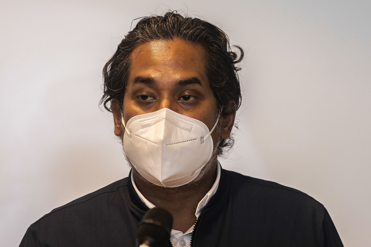 Khairy: These (anti-vaxx) groups continue to spread false news, threatening public health, and are annoying. (Photo by Zahid Izzani Mohd Said/The Edge)