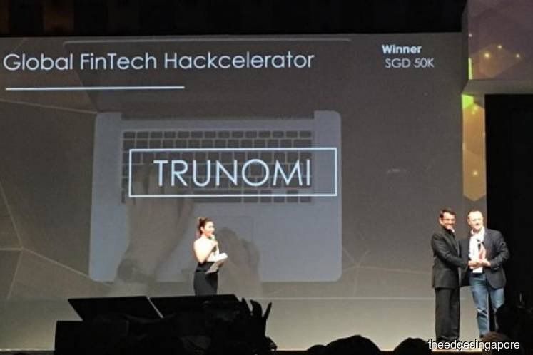 Here are the winners of the Global FinTech Hackcelerator