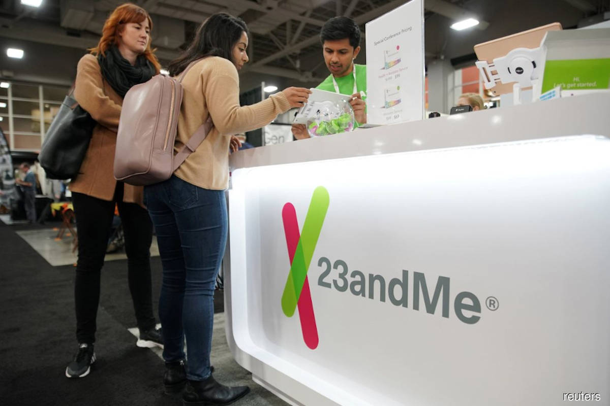 Branson-backed SPAC to take DNA-testing firm 23andMe public in US$3.5 bil deal