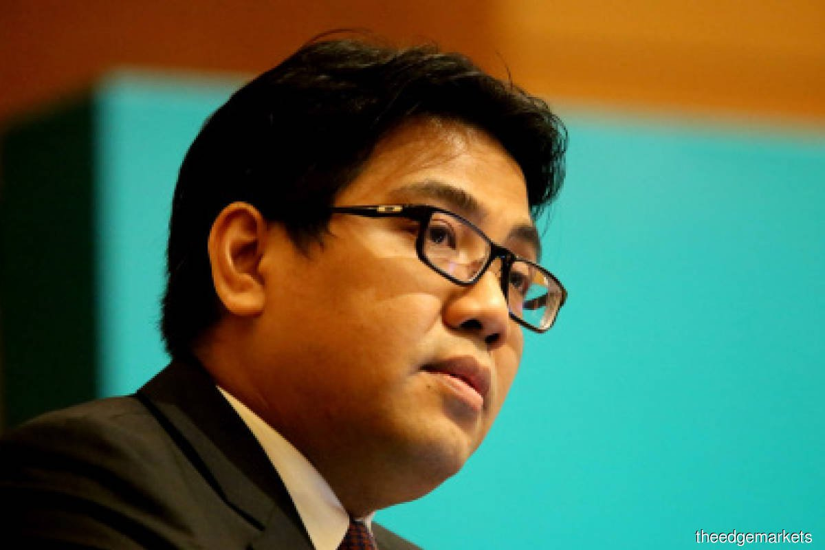 Muhammad Taufik defines 'liquidity plus' as 'the liquidity business as normal plus the need to also contend with contingencies'. (Photo by Mohd Suhaimi Mohamed Yusuf/The Edge)