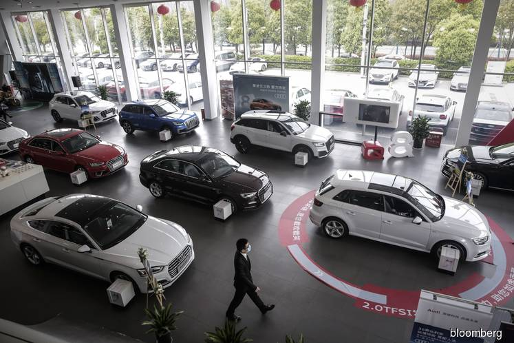 China vehicle sales rise for third month as pandemic eases