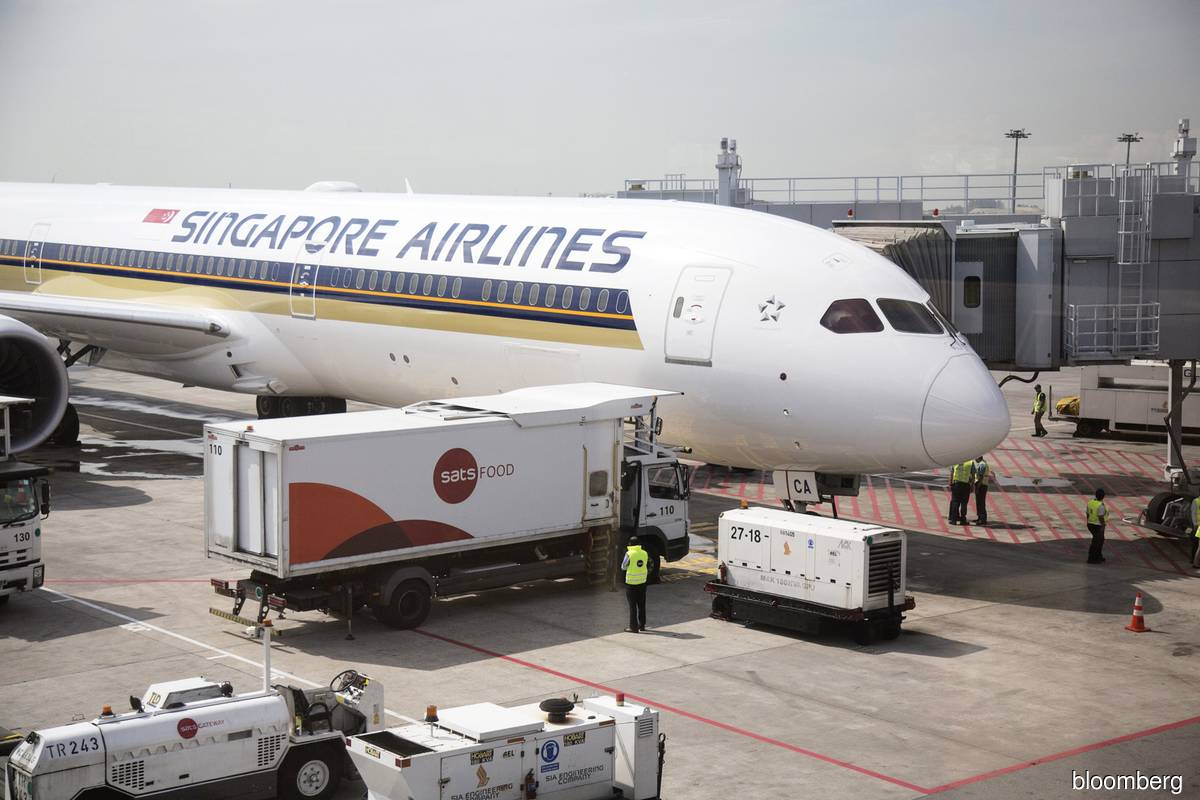 Singapore Airlines expects total passenger capacity to be around 25% of pre-Covid-19 levels at end-March 2021