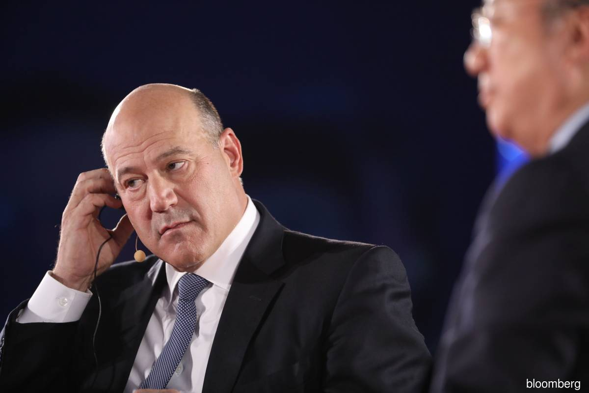 Gary Cohn, former assistant to the US president and former director of US National Economic Council, attends a panel discussion at the Bloomberg New Economy Forum in Beijing, China, on Friday, Nov 22, 2019. The New Economy Forum, organised by Bloomberg Media Group, a division of Bloomberg LP, aims to bring together leaders from public and private sectors to find solutions to the world's greatest challenges.