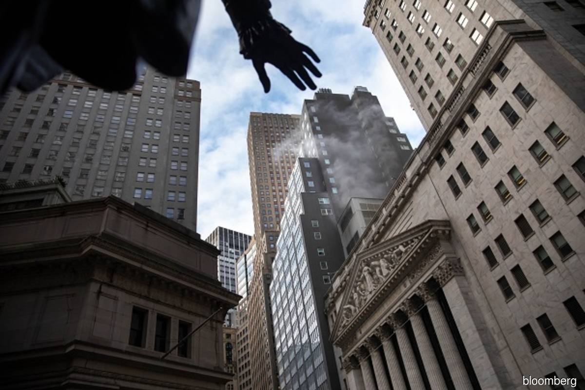 Dow leads declines on Wall Street as value stocks take a hit