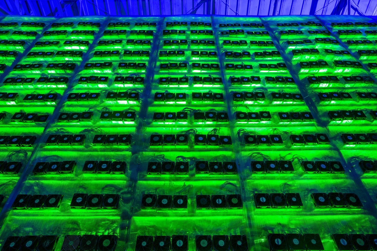 The gains come as Bitcoin climbs back from a slide of more than 15% on Thursday. (Photo by Bloomberg)