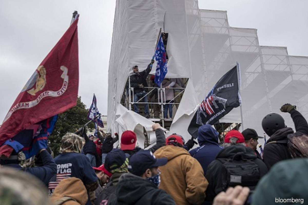Presidential panel on Capitol riot sought by Democratic lawmaker