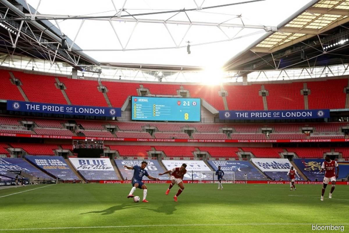 Europe soccer market shrinks after US$4.4b Covid-19 hit