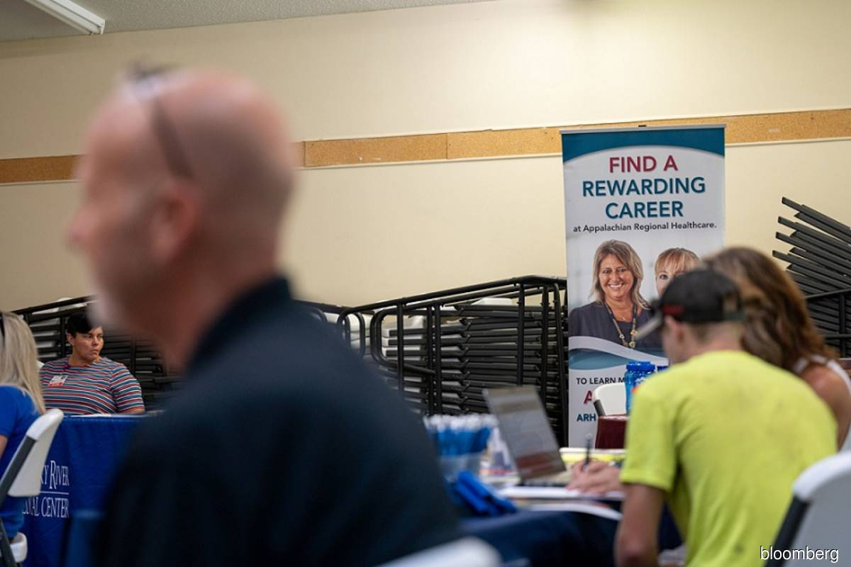 US labour market regaining footing as weekly jobless claims fall sharply