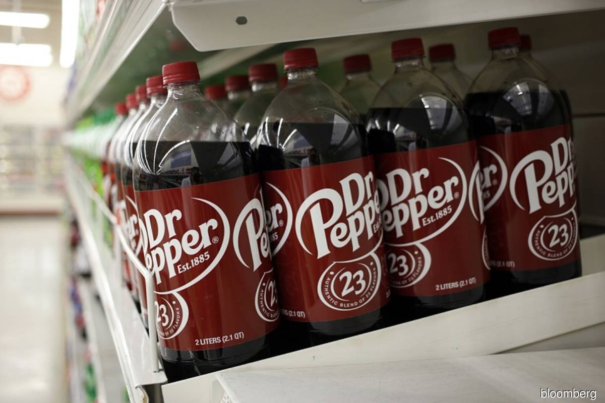 Keurig Dr Pepper CEO is looking at deals worth up to US$20 bil