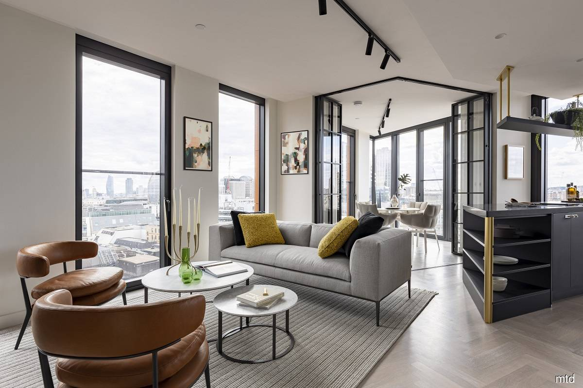 The show apartments situated on the 12th floor of One Crown Place development. (Photo by MTD Group)