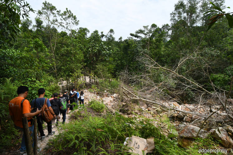 Land clearing activities in Bukit Cerakah carried out by trespassers, says landowner