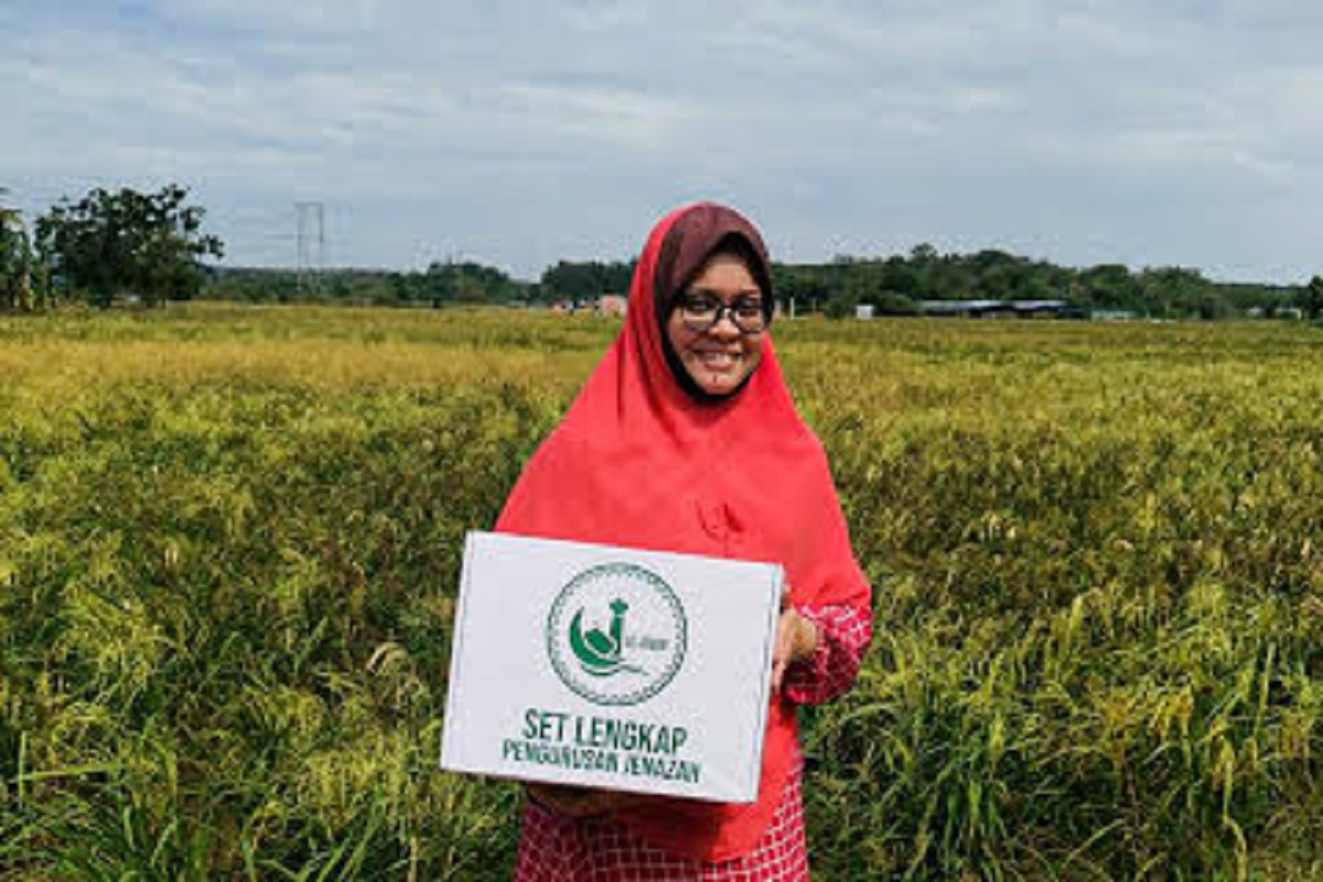Einayah Khalil, one of the 49 participants whose business has grown 10-fold after successfully completing the EEP.