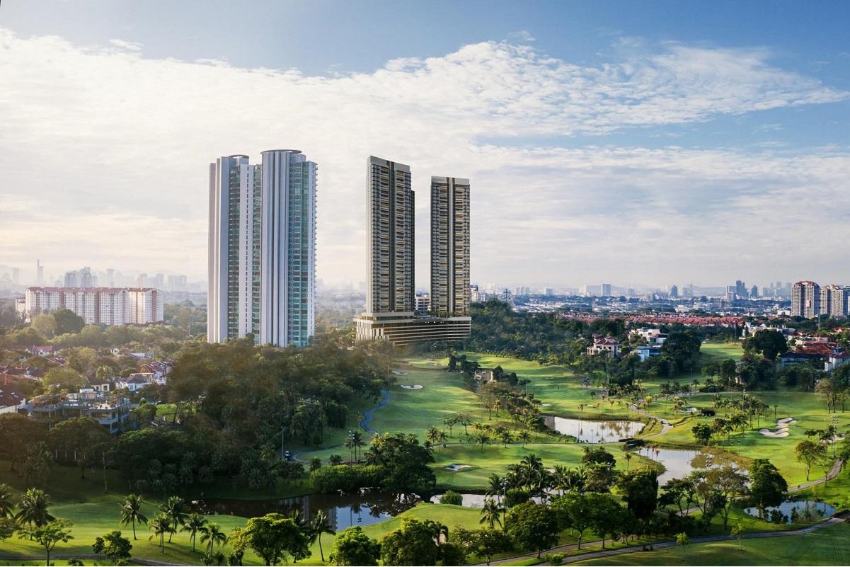 An artist's impression of MCT's maiden luxury residences, Aetas Damansara