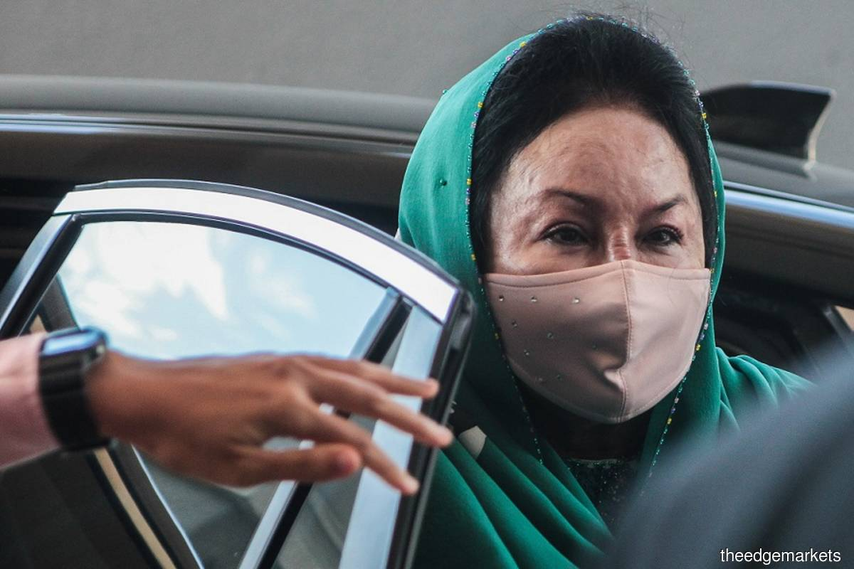 Datin Seri Rosmah Mansor (Photo by Zahid Izzani/The Edge filepix)