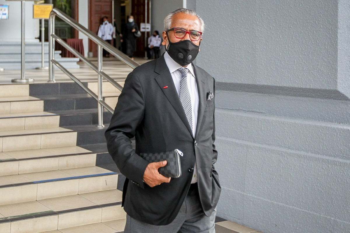 Shafee has been on trial since Sept 13, 2018, for two charges of receiving money derived from illegal activities amounting to RM9.5 million. (Photo by Shahrill Basri/TheEdge)