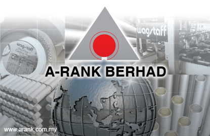 A-Rank's 4Q net profit jumps 32.8% boosted by overprovision of deferred tax