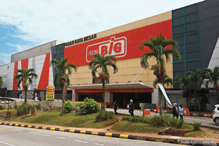 AEON BiG now has 21 stores after shutting its Alor Setar store last week. (Photo by Patrick Goh/The Edge)