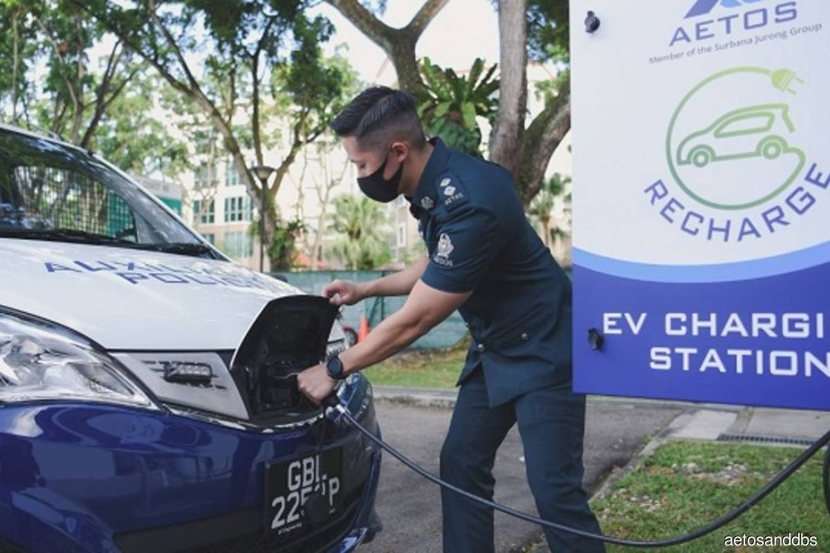 AETOS and DBS to convert full fleet to EVs by 2026; launches Singapore's first secure cash escort EV