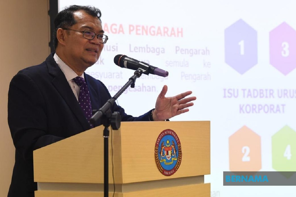 Simplified audit report process led to early detection of irregularities, says auditor-general