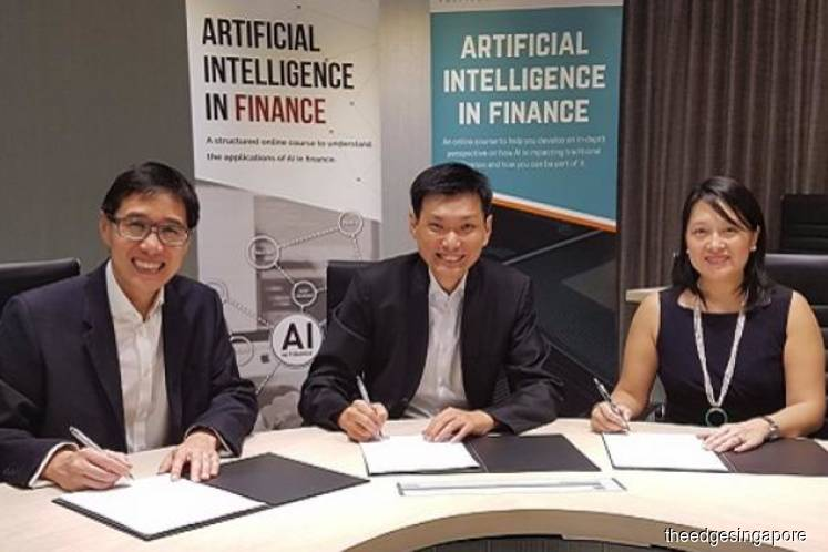 Ngee Ann Polytechnic partners London's CFTE to launch AI in Finance course