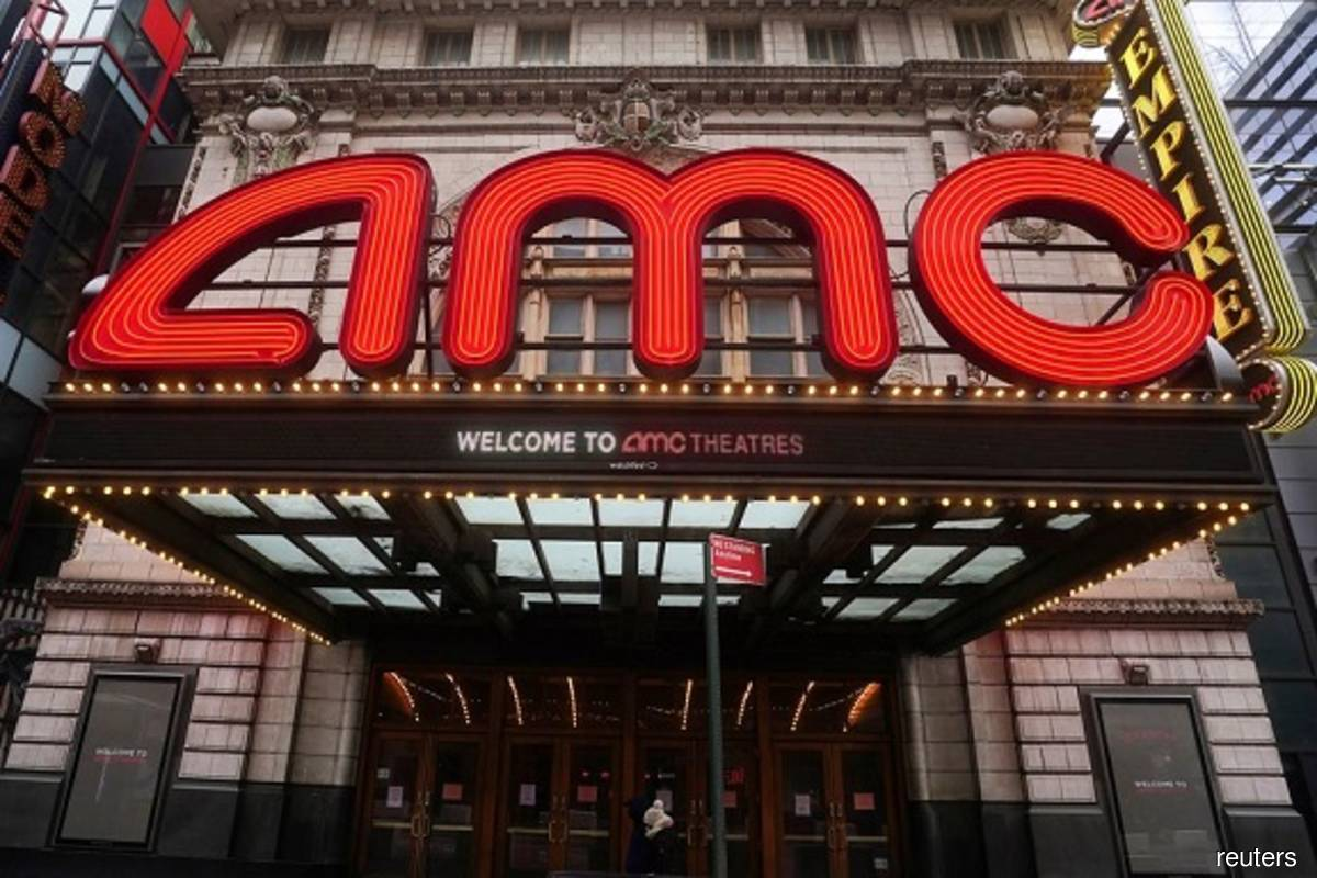AMC shares chop around but set for massive weekly advance