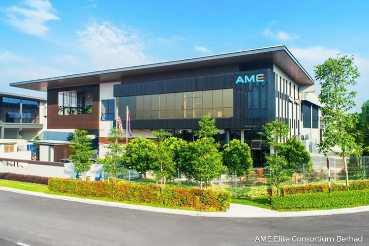 AME Elite active, up 5% on Main Market debut