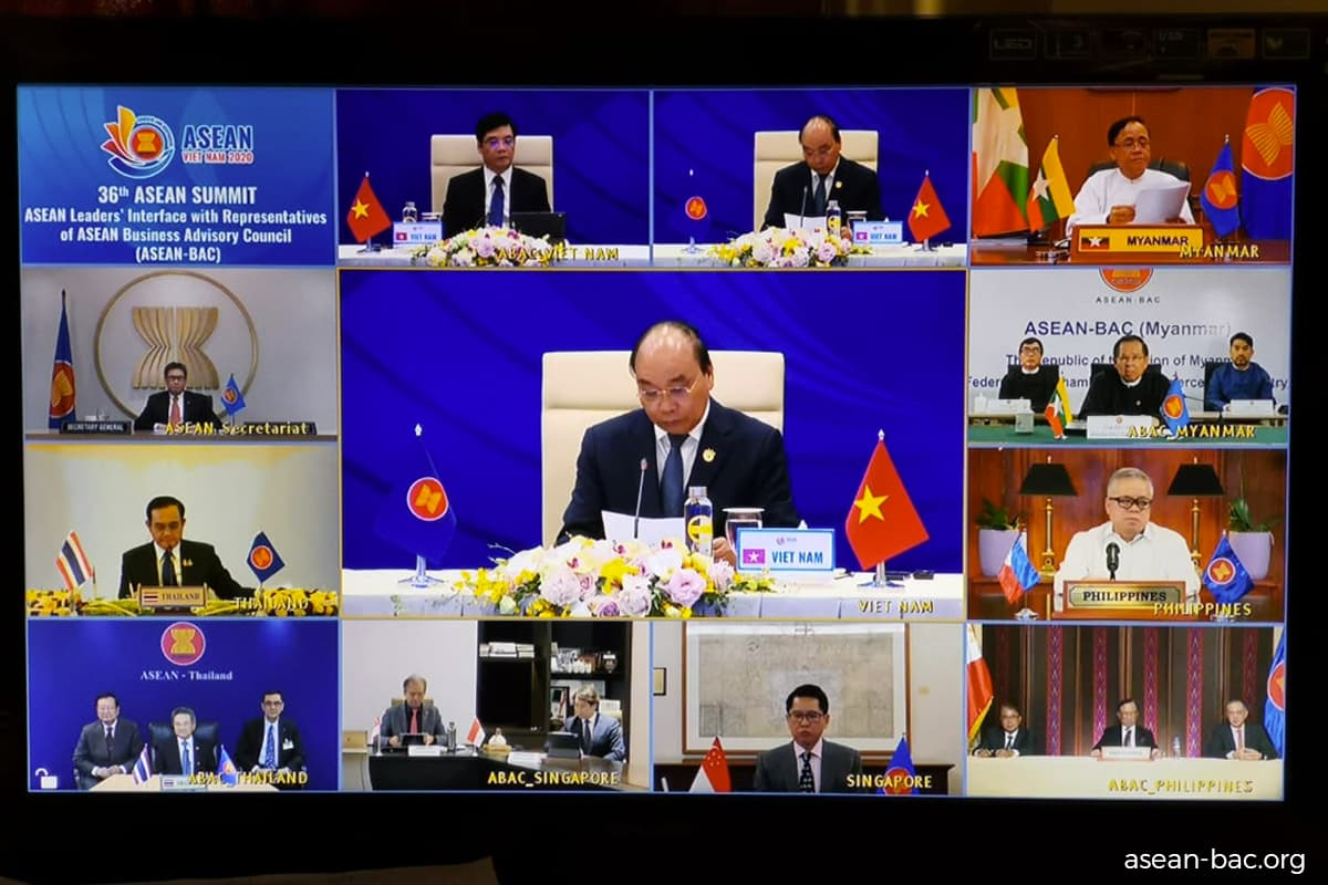 ASEAN Business Advisory Council calls for greater regional cooperation for Covid-19 economic recovery