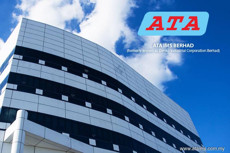 ATA IMS 1Q net profit up 42% on higher sales order