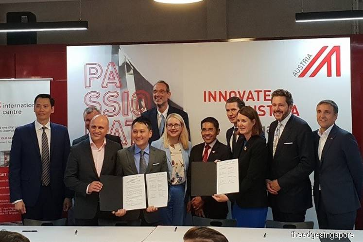 ACE in partnership to strengthen startup ecosystems in Singapore and Austria