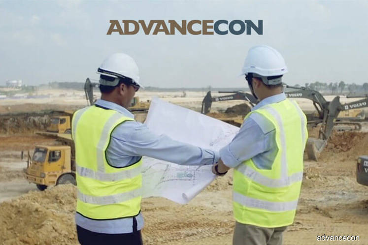 Advancecon rises 2.35% on bagging RM49.38m subcontract