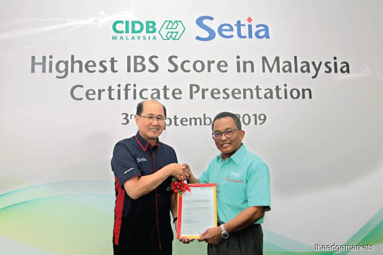 S P Setia to use IBS for landed residential projects