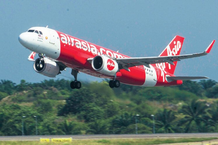 AirAsia could redeploy its aircraft for domestic routes especially during festive periods such as Hari Raya Aidilfitri, provided Covid-19 fears have waned by then. (The Edge file photo)