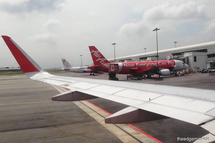 AirAsia Bhd 3Q passengers at 9.89m across Malaysia, Indonesia, Philippines ops