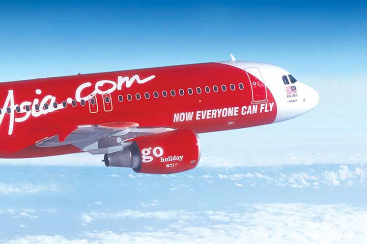 AirAsia shares fall as much as 3.8% in early trading