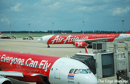 AirAsia's, AirAsia X' securities among top actives