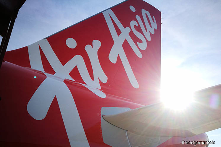 AirAsia active, down 5.41% to lowest level in 3 years on slipping into the red in FY19