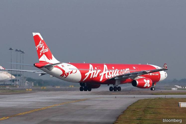 AirAsia X active, falls 5.71% after 3Q net loss widens