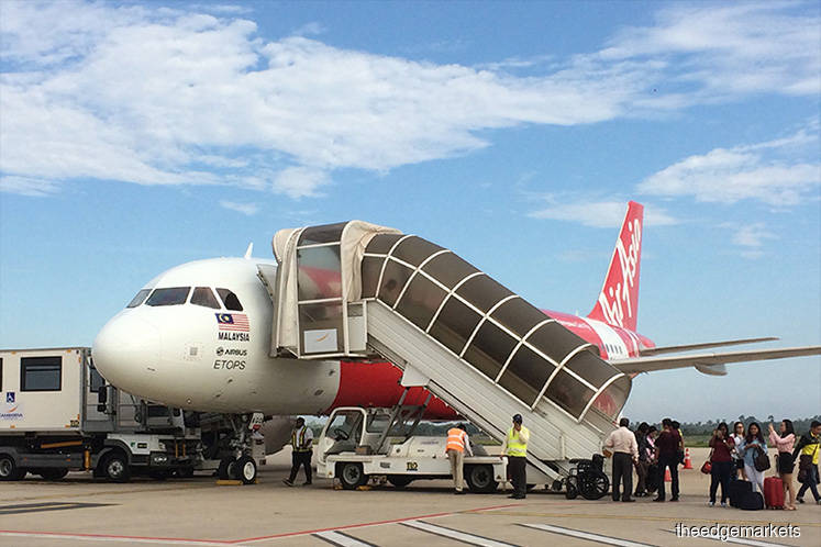 AirAsia, AAX and MAHB stocks down on Covid-19 fears