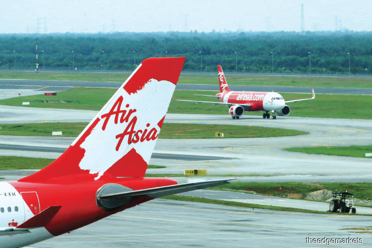 AirAsia is near to closing a RM500 million loan from the government. Sam Fong/The Edge