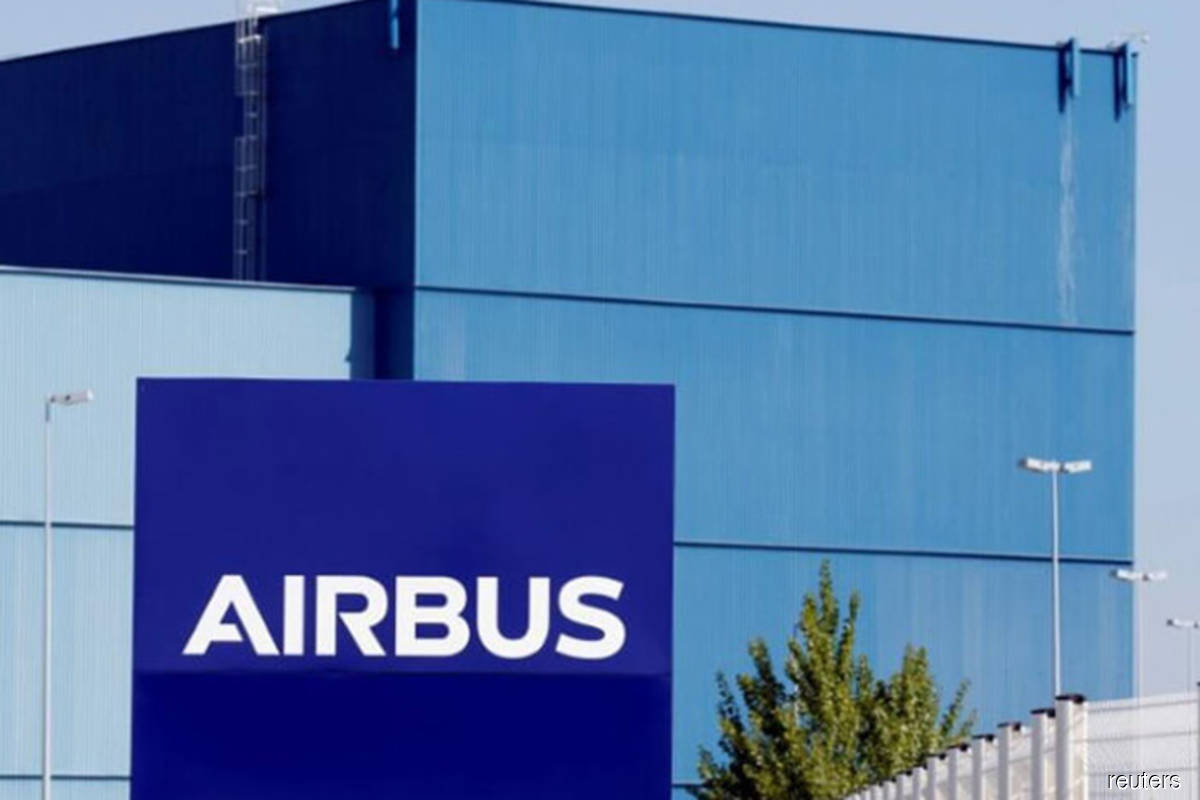 Airbus deliveries up in March, sending shares higher