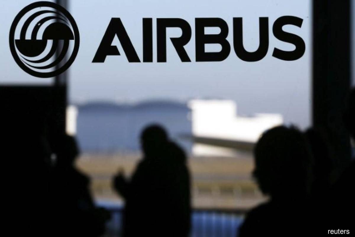Airbus shares gain with 560-plane target in sight at end of 2020