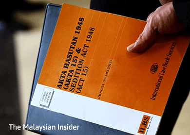 Prosecution must show criminal intent to prove sedition, says PKR leader