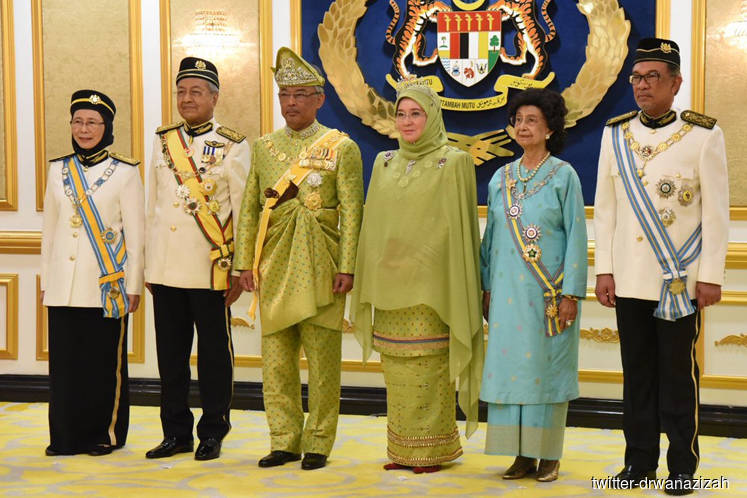 Sultan Abdullah installed as Malaysia's 16th King